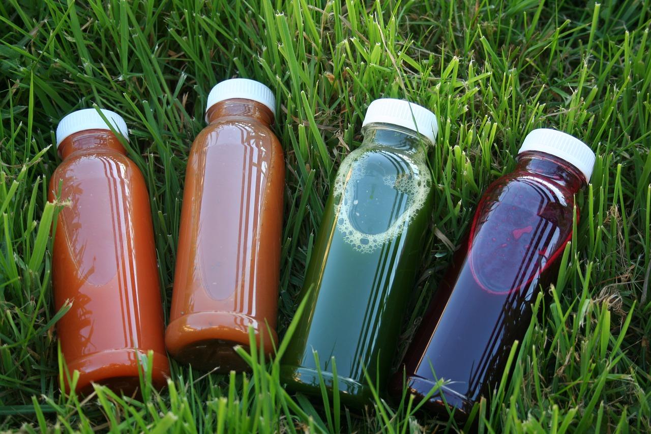 świeże soki warzywne
