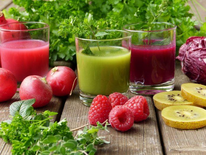 soki z warzyw oczyszczanie organizmu