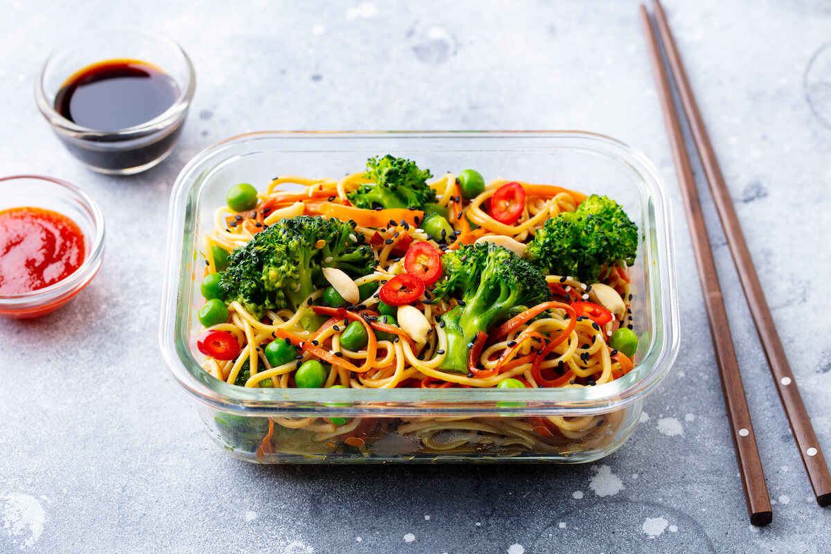 dieta wegańska pudełkowa
